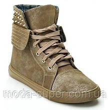 Ботинки женские Олива  рр 36