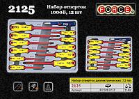 Набор отверток диэлектрических 1000V, 12шт., FORCE 2125