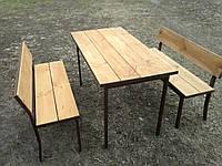 Стол садовый металлический