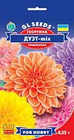 Георгина Дуэт помпонная очень эффективная смесь оригинальной формы соцветий, упаковка 0,25 г