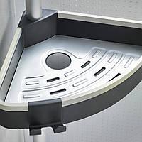 Полка для ванной раздвижная Н 3806 (нержавеющая) PRIMA NOVA