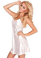 Пеньюар женский атлас, ночная сорочка, ночная рубашка шелк. Розница, опт в Украине., фото 1