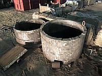 Литье крупно габаритных отливок из лигированых морок стали и чугуна нержавеющей стали, фото 2