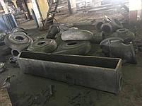 Литье крупно габаритных отливок из лигированых морок стали и чугуна нержавеющей стали, фото 3