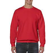 Реглан красный свитшот Heavy Blend, 9 цветов, под нанесение логотипов