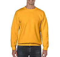 Реглан свитшот желтый Heavy Blend, 9 цветов, под нанесение логотипов