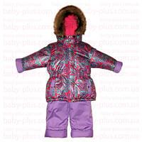 Зимний термокостюм для девочки Happy&Pretty 71