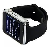 Подарок + Умные часы A1 SMART WATCH телефон СТИЛЬ APPLE, черные.