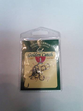 Крючки Golden Catch DEFT TRAP №1, фото 2
