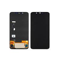 Дисплей для XIAOMI Mi8 с чёрным тачскрином