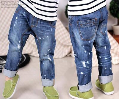 Детские джинсы, брюки мальчикам и девочкам.