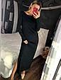 Длинное платье свободного кроя на одно плечо, фото 6