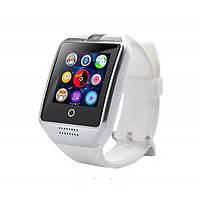 Подарок + Умные часы A1 SMART WATCH телефон СТИЛЬ APPLE, белые.