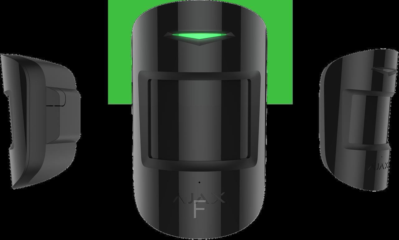Ajax CombiProtect Original–Беспроводной комбинированный датчик движения и разбития (black)