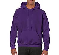 Реглан толстовка Heavy Blend фиолетовый, 9 цветов, под нанесение логотипов, фото 1