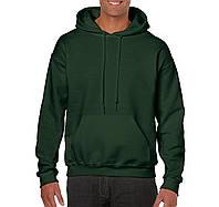 Реглан толстовка Heavy Blend зеленый, 8 цветов, под нанесение логотипов