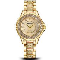 Женские часы Baosaili Diamond золотые