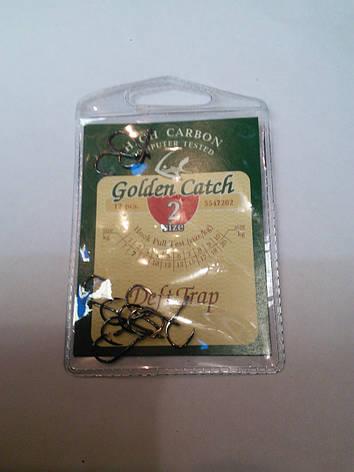 Крючки Golden Catch DEFT TRAP №2, фото 2