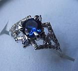 Кольцо  женское серебряное Модерн, фото 2