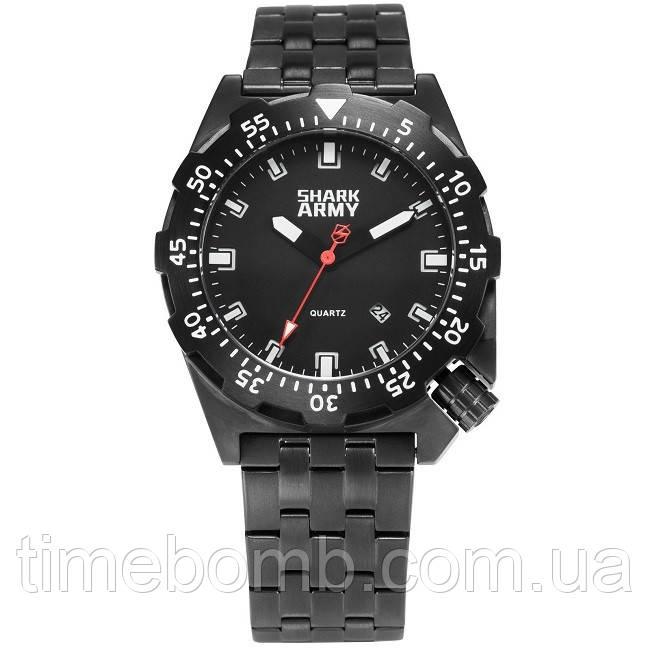 Мужские армейские часы Shark Army Marine Corps белые