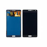 Дисплей для SAMSUNG A500 Galaxy A5 с чёрным тачскрином, с регулируемой подсветкой