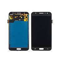 Дисплей для SAMSUNG J500 Galaxy J5 с чёрным тачскрином, с регулируемой подсветкой (ID:17768)