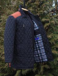 Стильная мужская куртка весенняя большого размера 56-64