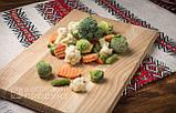 """Смесь """"Весенняя"""" (морковь, фасоль стручковая, брокколи, капуста цветная, капуста брюссельская) замороженная, фото 2"""