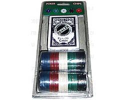 Покерный набор на блистере