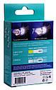 Автолампа диодная Philips T10 LED 6000 11961ULWX2, комплект 2 шт, W5W, 194, 168, цвет свечения белый, фото 2