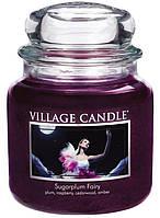 Свеча ароматическая Сахарная Слива Village Candle 389 г