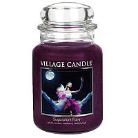 Свеча ароматическая Сахарная Слива Village Candle 602 г