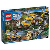 Lego City Вертолёт для доставки грузов в джунгли 60162 Jungle Air Drop Helicopter