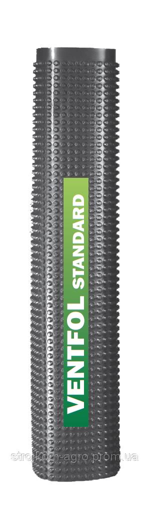 Шиповидная геомембрана - Ventfol 400 Standard 40м2/рулон