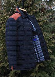 Модна чоловіча куртка весняна великі розміри розміри 58,60,62