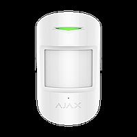 Ajax CombiProtect Original–Беспроводной комбинированный датчик движения и разбития (White), фото 1