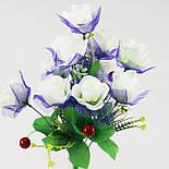 Искусственные цветы букет роз с вишней, фото 3