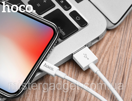 Кабель hoco. X23 USB - micro USB 1м, фото 2