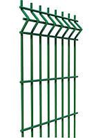 Ограждение, секционный забор, секции ограждения СІТКА ЗАХІД ф3.4оц+ПП яч 200х50мм 1.73/2.5м (2056)