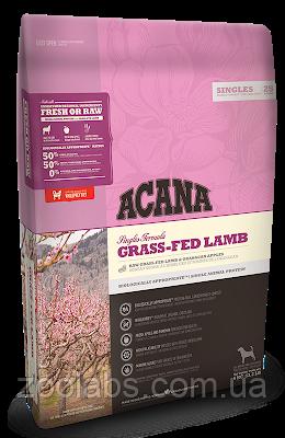 Корм Acana для собак и щенков с ягненком   Acana Grass Fed Lamb 11,4 кг, фото 2