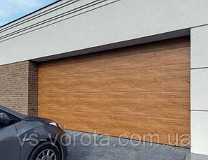Ворота Doorhan RSD 01 размер 2500х2200 мм - гаражные секционные Чехия