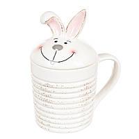"""Чашка с крышкой """"Пасхальный кролик"""" (375 мл.)"""