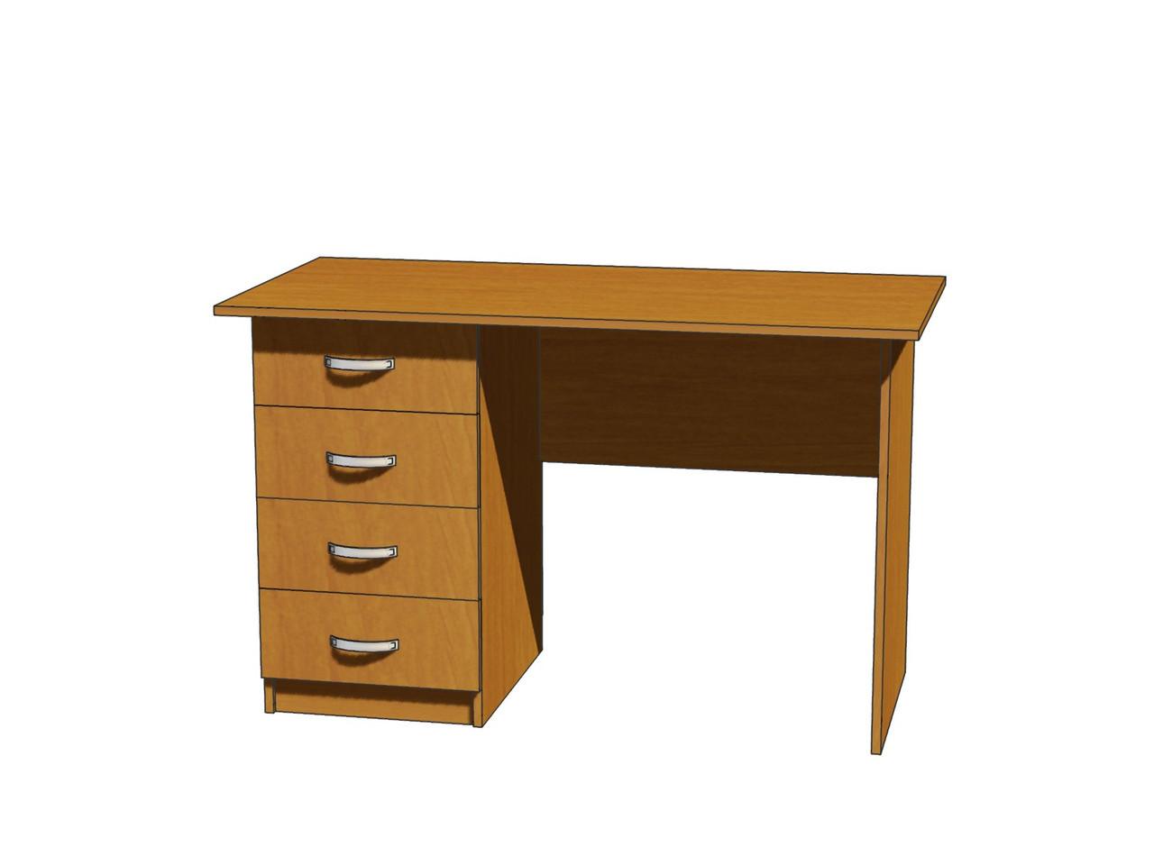 Стол письменный ШхГхВ: 1200х600х750 мм.