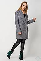 Пальто женское демисезонное ЖЕНЕВА, PG2090, серый