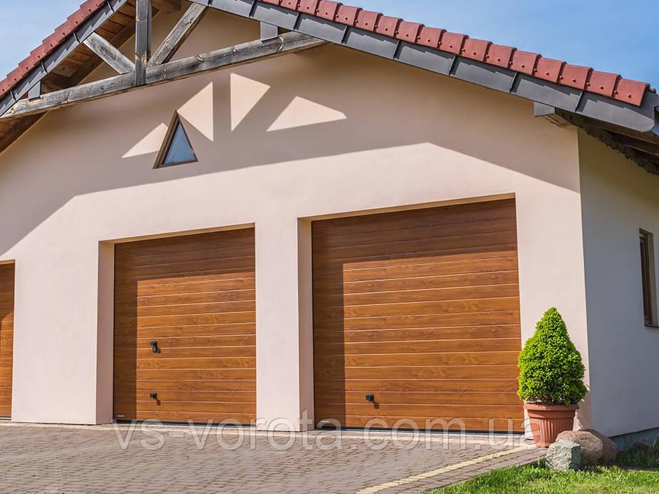 Ворота Doorhan RSD 01 размер 2800х2200 мм - гаражные секционные Чехия
