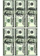 Съедобная печать на вафельной бумаге Деньги (02)