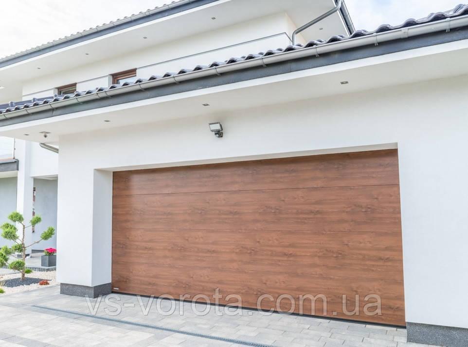 Ворота Doorhan RSD 01 размер 2700х2500 мм - гаражные секционные Чехия