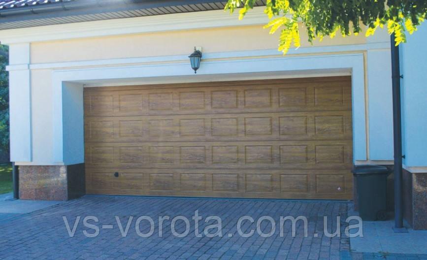 Ворота Doorhan RSD 01 размер 2900х2500 мм - гаражные секционные Чехия