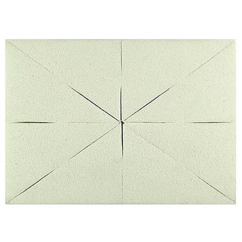 Спонж прямоугольный для макияжа 8в1 (белый) QS-261