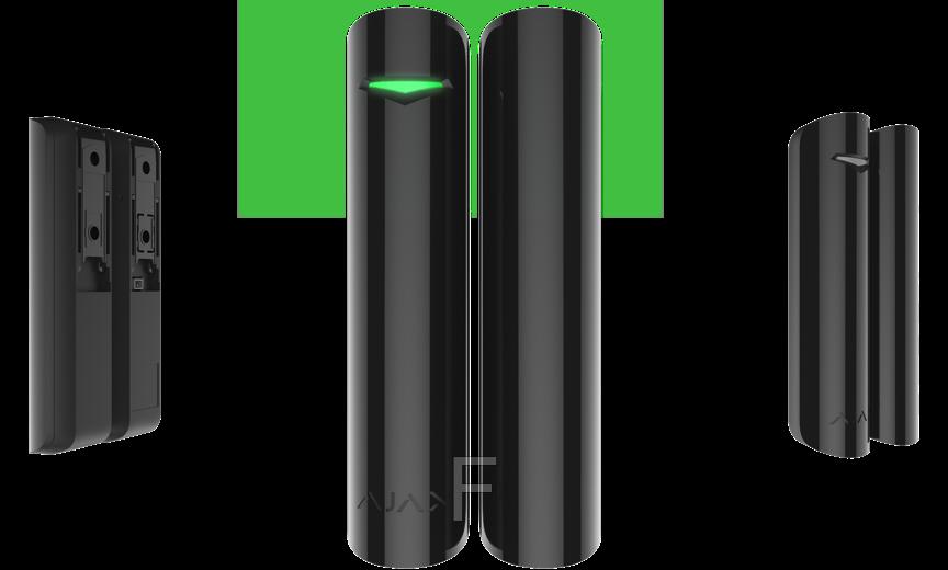 Ajax DoorProtect Original  Plus – Беспроводной датчик открытия двери/окна  (Black)